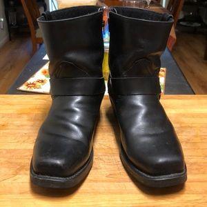 Dingo zipper harness boots, 14EW